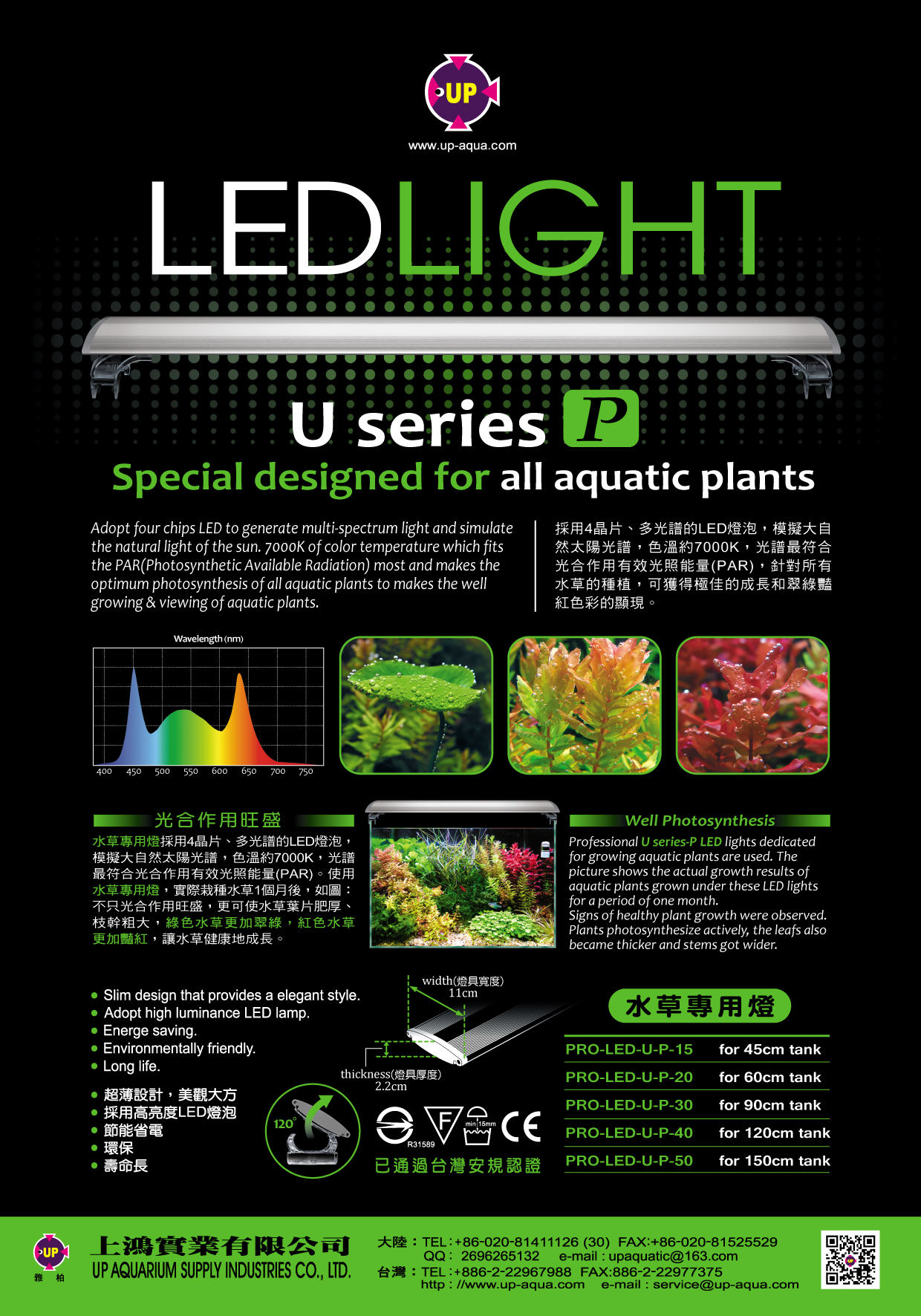 sc 1 st  UK Aquatic Plant Society & UP Aqua Pro U Series P Plants LED Lighting | UK Aquatic Plant Society